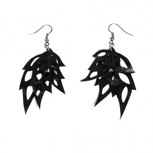 Earring Three Leafs