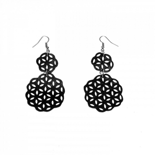 Earring Flower of Life